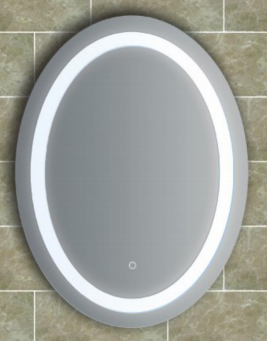 MIRROR-LED 600*800 OVAL