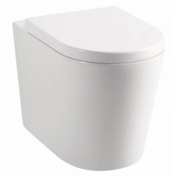 Avery Wall Faced Floor Pan Box Rim Flushing WATERMARK S TRAP P