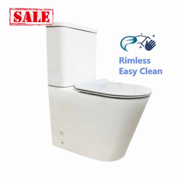 Buy Avis Compact Rimless flush pan Toilet Suite