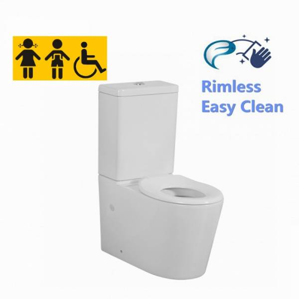 Avis Junior Wall Faced Toilet Suite